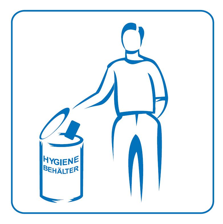 Logo Initiative Hygienebehälter in Herrentoiletten BPS Prostatakrebs