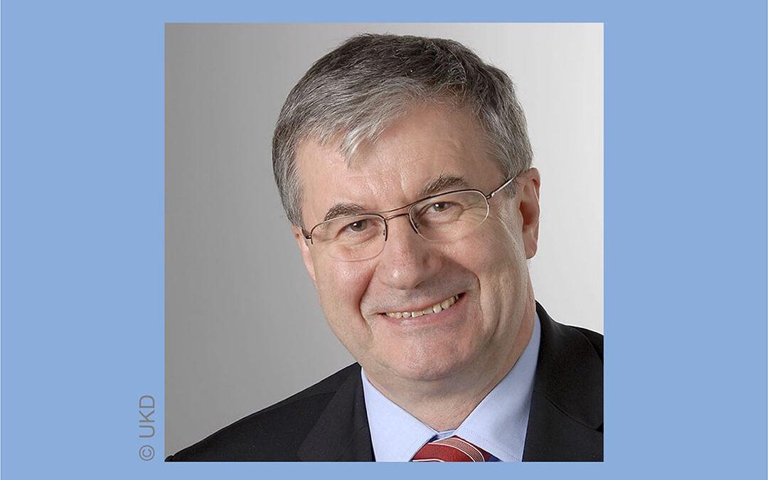 Willy Gregoir-Medaille für Prof. Dr. med. Dr. h. c. Manfred Wirth