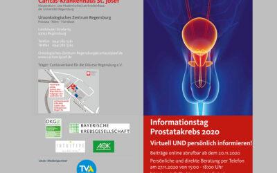 SHG PROCAS Regensburg/Oberpfalz: Informationstag 2020 – Virtuell und persönlich