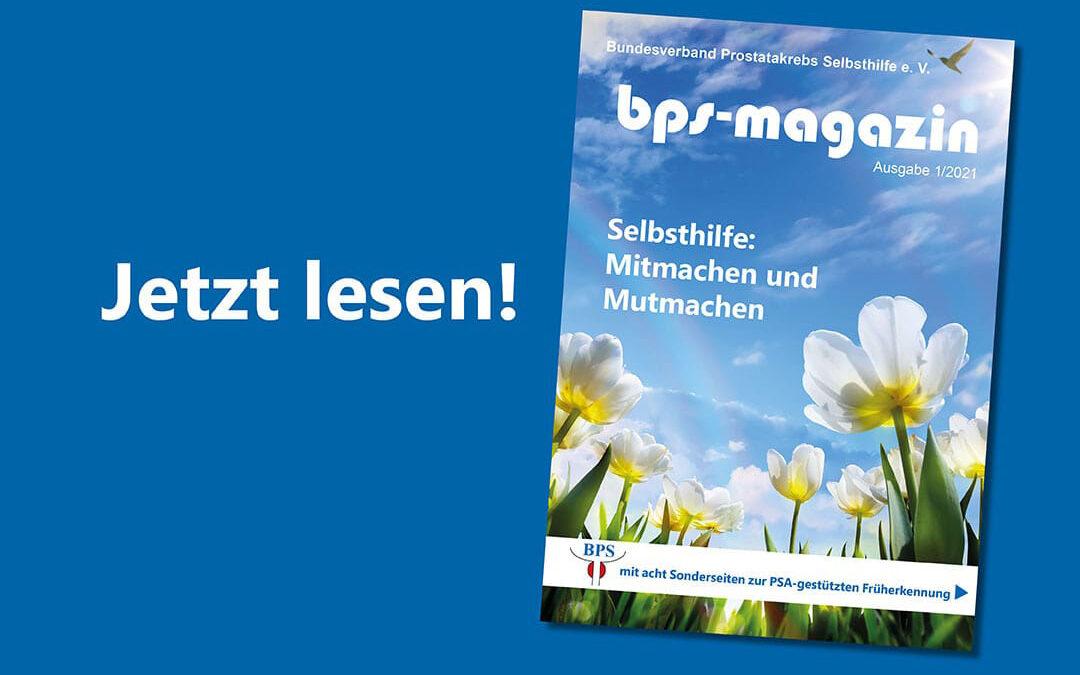 Bild jetzt lesen! BPS-Magazin 01/2021