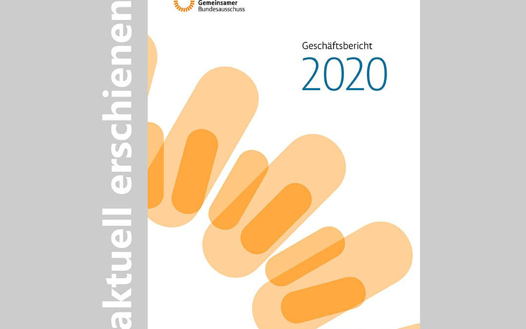 Geschäftsbericht des G-BA 2020 liegt vor