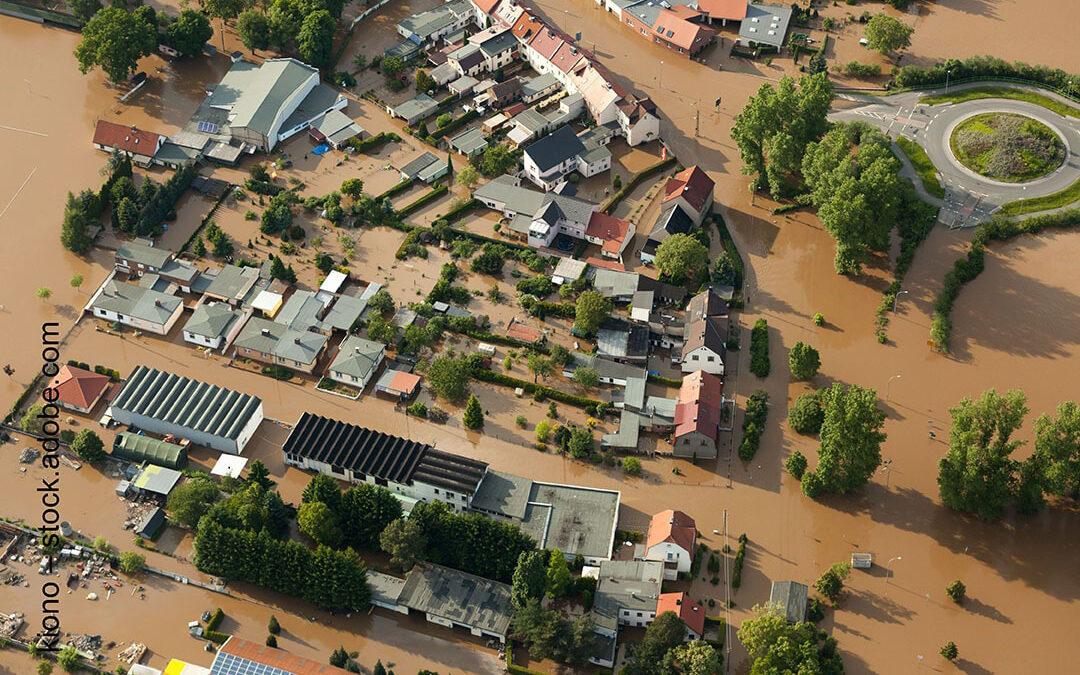 Hilfe für BPS-Mitglieder in Überschwemmungsgebieten