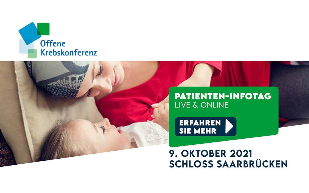 Offene Krebskonferenz am 9. Oktober 2021