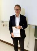 Wil de Jongh-Medaille für Prof. Dr. Axel Heidenreich